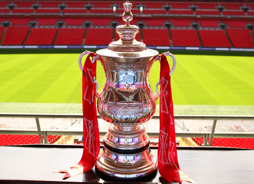 The FA Cup - Pictured here in happier times with ex-sponsor, Budweiser